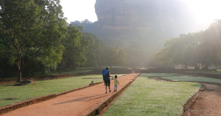 How to Climb Sigiriya Rock   Sri Lanka (with a toddler)